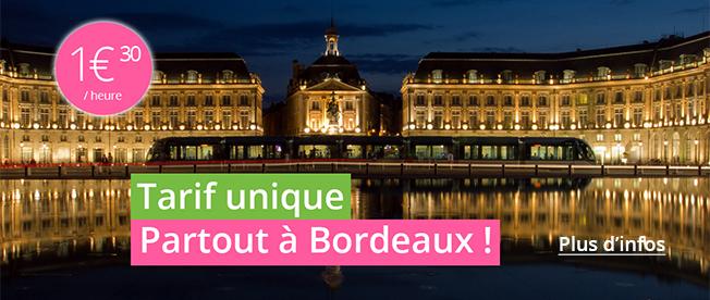 encart promotionnel de l'offre Uniformisation Bordeaux