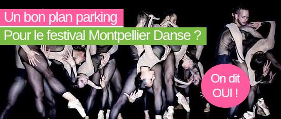 encart promotionnel de l'offre Montpellier Danse